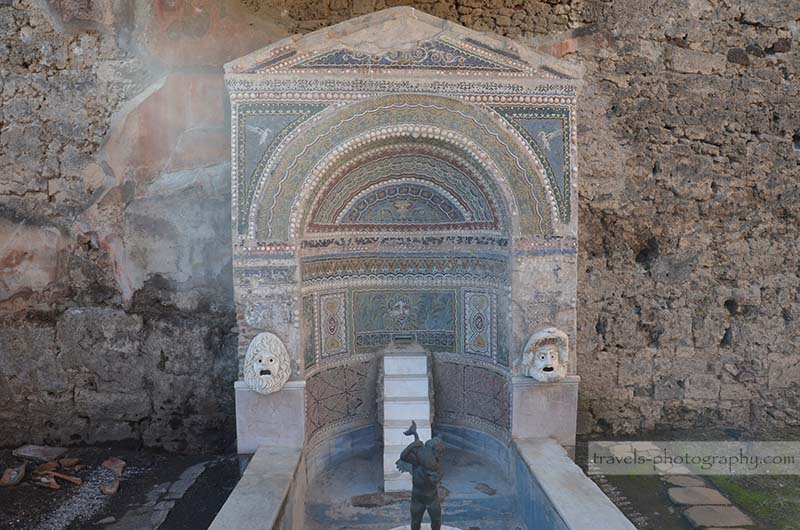 Reisefotografie aus der historischen Stadt Pompeij in Italien - Travel Photography
