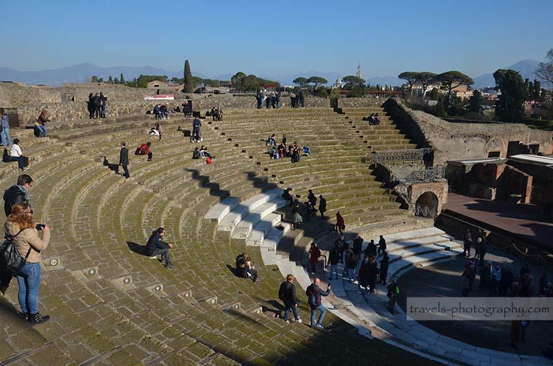 Theater - Reisefotografie aus der historischen Stadt Pompeij in Italien - Travel Photography